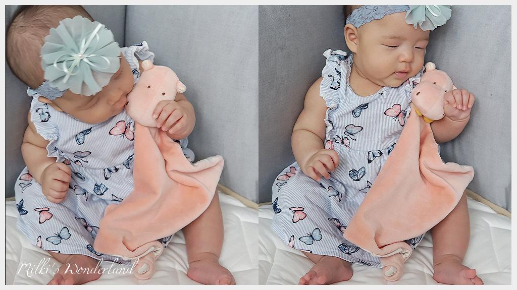 miYim有機棉安撫巾/瑜珈娃娃